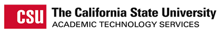 California State University Academic Technology Services logo
